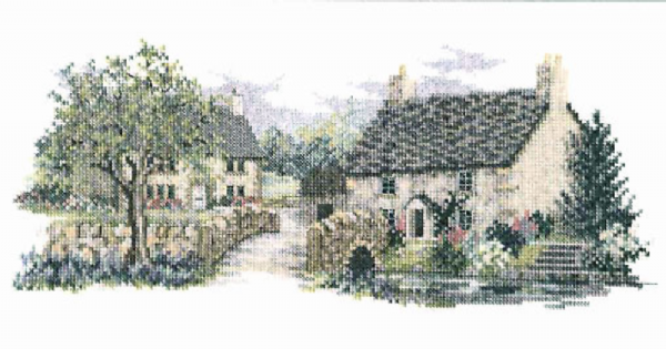 Bluebell Lane Cross Stitch Kit
